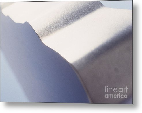 Lightscape Metal Print featuring the photograph Blue Flash Blue by Thomas Carroll