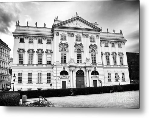 Palais Trautson Metal Print featuring the photograph Palais Trautson Design by John Rizzuto