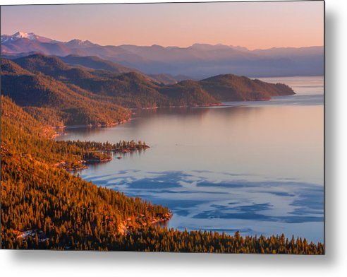 Landscape Metal Print featuring the photograph Lake Tahoe East Shore by Marc Crumpler