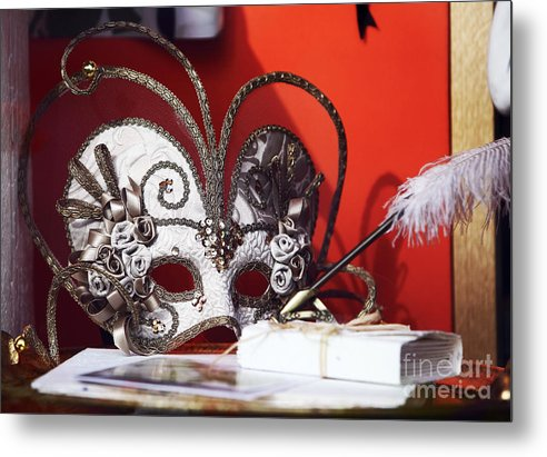 Montreal Mask Metal Print featuring the photograph Montreal Mask by John Rizzuto