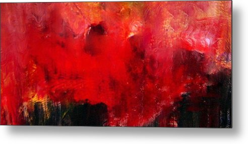 Inspired By Adele's Song Of The Same Title Metal Print featuring the digital art Set fire to the rain by Joseph Ferguson