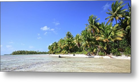 Tranquility Metal Print featuring the photograph Rangiroa - Isola Dei Coralli - Reef Isl by Loving And Living In This Planet