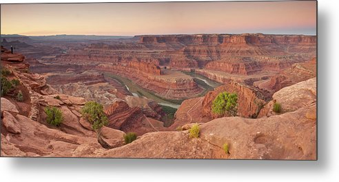Scenics Metal Print featuring the photograph Dead Horse Point State Park, Utah by Enrique R. Aguirre Aves