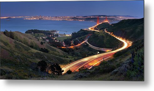 Scenics Metal Print featuring the photograph S Marks The Spot by Vicki Mar Photography