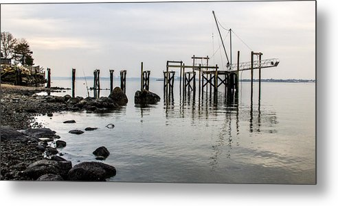 Water Metal Print featuring the photograph Sandy 8 by Arthur Sa