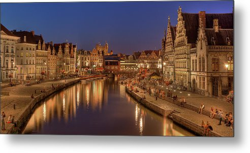 Tranquility Metal Print featuring the photograph Gent - 03101119 by Klaus Kehrls
