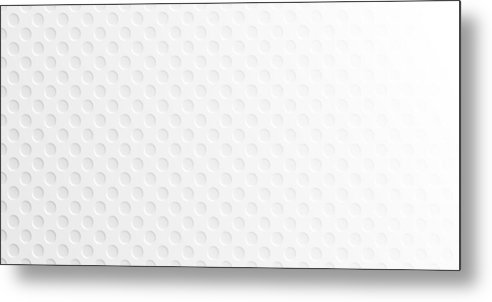 Shadow Metal Print featuring the drawing Abstract white background - Geometric texture by Bgblue