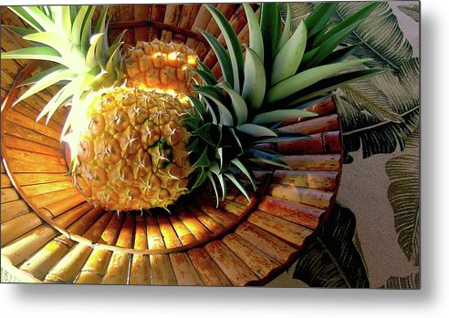 Pineapple Metal Print featuring the photograph Good Morning Hawaii by James Temple