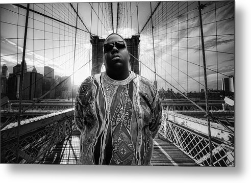 Notorious BIG Brooklyn's Finest by Nicholas Legault