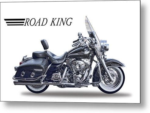 H D Road King by Daniel Hagerman