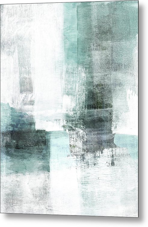 Abstract Metal Print featuring the painting Ethereal by Janine Aykens