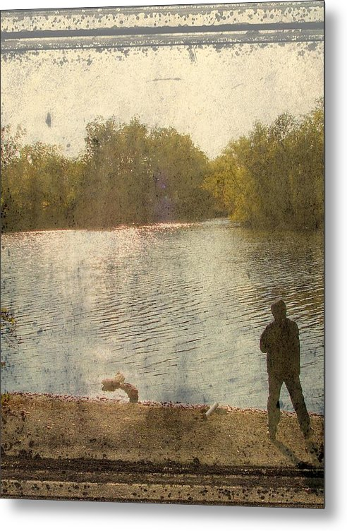 Metal Print featuring the photograph Time by Luciana Seymour