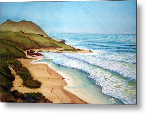 Rick Huotari Metal Print featuring the painting Pacific by Rick Huotari