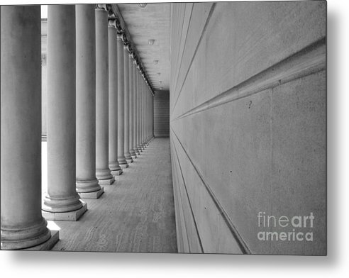 Architecture Metal Print featuring the photograph lLegion of Honor Museum by Raphael Bruckner