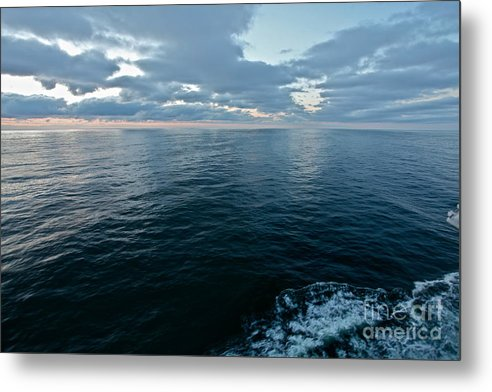 Landscape Photos Metal Print featuring the photograph When God Bless Artists And Dreamers . Miracle Baltic See by Andrzej Goszcz