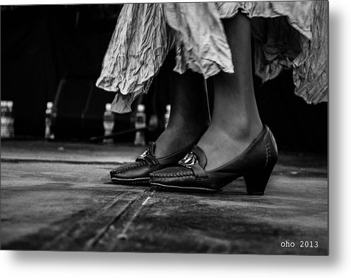 Zapatos Metal Print featuring the photograph Zapateando II by Samantha Pinero