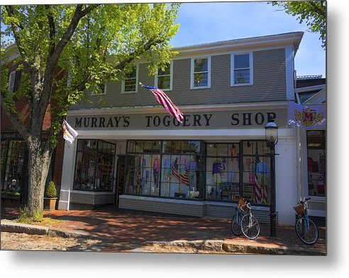 Nantucket Metal Print featuring the photograph Nantucket Murrays Toggery Shop - Y1 by Carlos Diaz