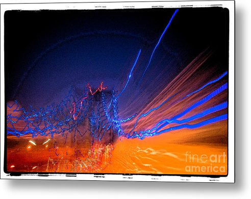 San Pedro Metal Print featuring the photograph Night Vision by Michael Ziegler