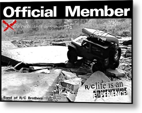 T Shirt Metal Print featuring the digital art R/c Experience by Anthony Djordjevic