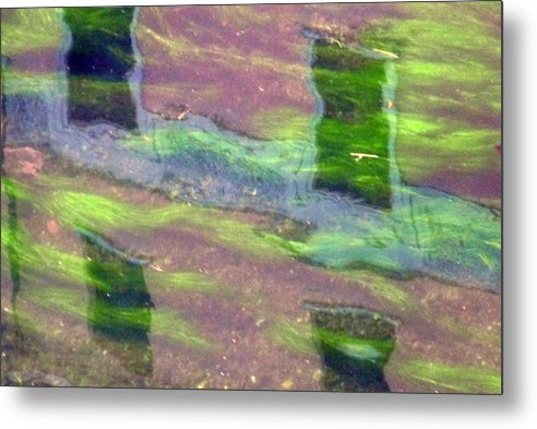 Water Metal Print featuring the photograph Water3 by Mikael Gambitt