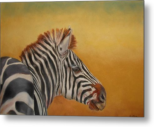 Africa Metal Print featuring the painting Hello Africa by Ceci Watson