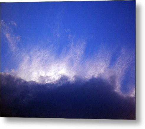 Cloud Metal Print featuring the photograph Sky2 by Mikael Gambitt