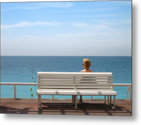 Woman Metal Print featuring the photograph Solo by Steve Holcroft