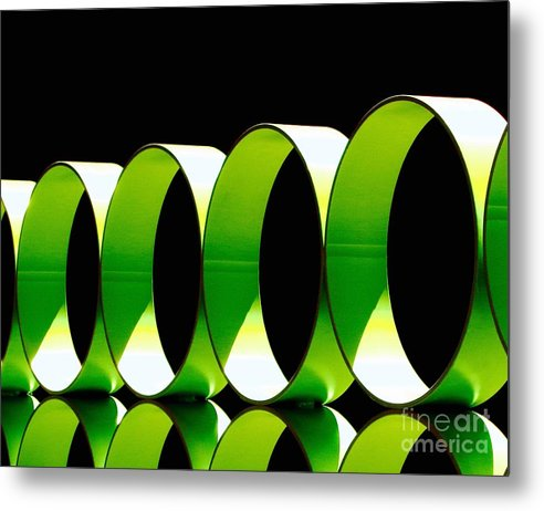 Cathy Dee Janes Metal Print featuring the photograph Code by Cathy Dee Janes