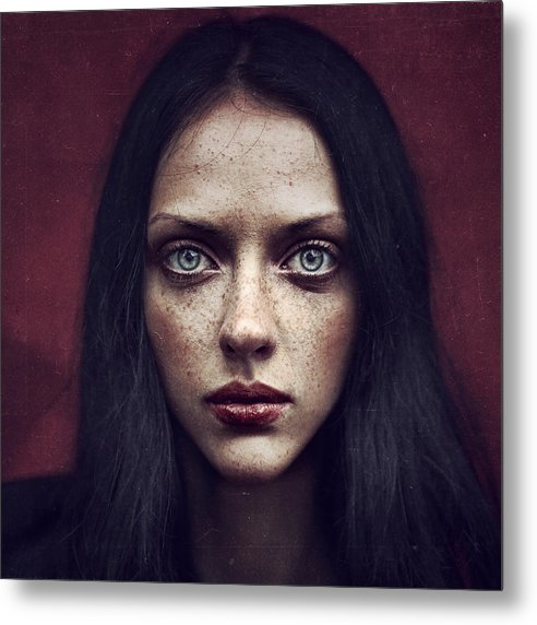 Portrait Metal Print featuring the photograph Kate by Anka Zhuravleva
