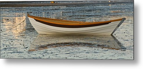 Dory Metal Print featuring the photograph Dory At Low Tide by Gene Sizemore