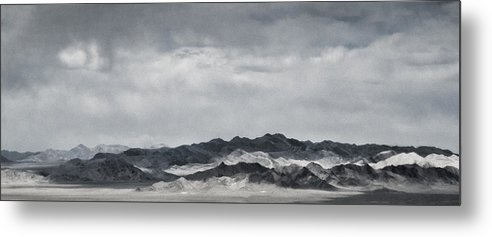 Nevada Metal Print featuring the photograph Nevada Mountains by Nancy Killam