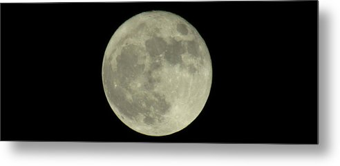 Supermoon Metal Print featuring the photograph The Super Moon 3 by Robert Knight