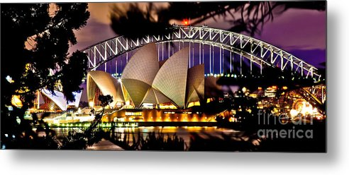 Sydney Metal Print featuring the photograph Jewel Of The Harbour by Az Jackson