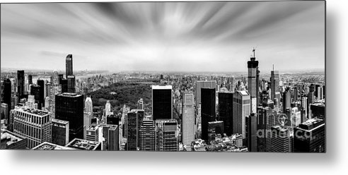Central Park Metal Print featuring the photograph Central Park Perspective by Az Jackson