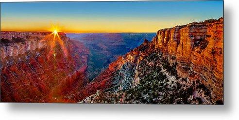 Grand Canyon Metal Print featuring the photograph Grand Canyon Sunset by Az Jackson