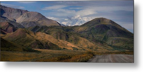 Denali National Park Metal Print featuring the photograph Sleeping Giants by Gary O'Boyle