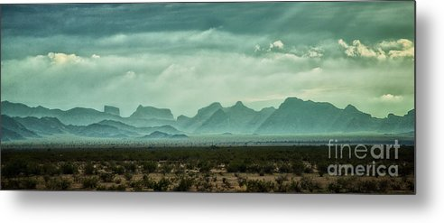 Nature Metal Print featuring the photograph Western Mountains by Stanton Tubb