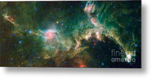 Science Metal Print featuring the photograph Ic 2177-seagull Nebula by Science Source