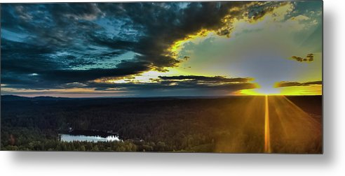 Metal Print featuring the photograph Washington Sunset by Mike Berry