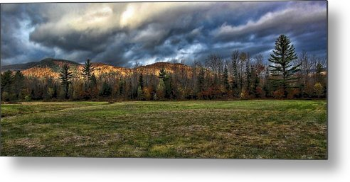 Metal Print featuring the photograph Autumn -- Foothills - Maine by Thomas J Martin