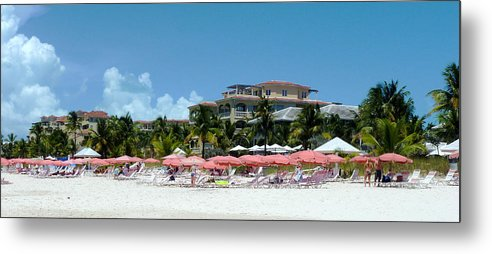 Resort Metal Print featuring the photograph Turks 43 by Allan Rothman