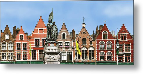 Bruge Metal Print featuring the photograph Bruge by Julie Geiss