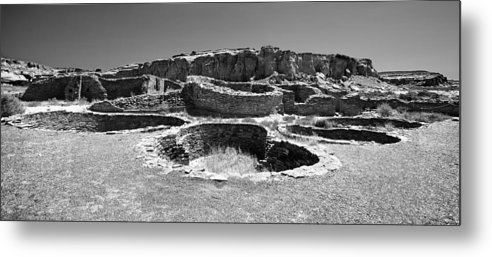 Chaco Canyon Metal Print featuring the photograph Chaco Four by Paul Basile