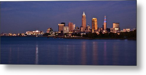 Cleveland Metal Print featuring the photograph Cleveland Ohio by Dale Kincaid