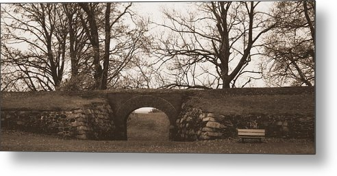 The Ramparts Of Fort Anne Metal Print featuring the photograph The Ramparts Of Fort Anne by Karen Cook