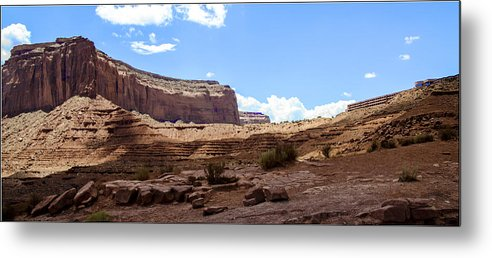 Landscape Metal Print featuring the photograph The View Hotel - Monument Valley - Arizona by Jon Berghoff