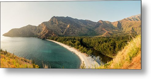 Landscape Metal Print featuring the photograph Anawangin Cove by PJ Ibasco