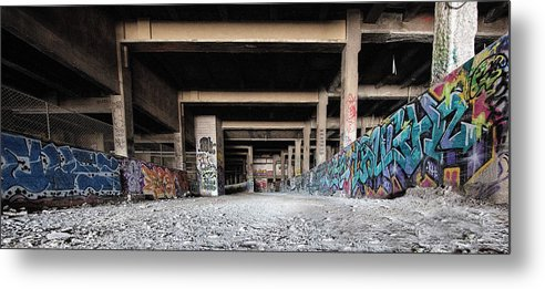 Subway Metal Print featuring the photograph Ground Level by Deborah Penland