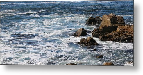 Sea Metal Print featuring the photograph Sea Blue by Christy Pooschke