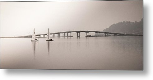Boats Metal Print featuring the photograph Tranquility by Omer Vautour